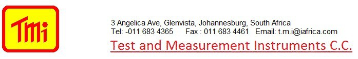 Test and Measurement Instruments C.C.